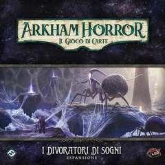 Copertina ARKHAM HORROR - LCG - DIVORATO n. - ARKHAM HORROR - LCG - DIVORATORI DI SOGNI, ASMODEE ITALIA