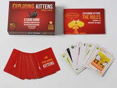 Copertina EXPLODING KITTENS n. - EXPLODING KITTENS, ASMODEE ITALIA
