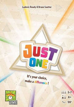 Copertina JUST ONE n. - JUST ONE, ASMODEE ITALIA