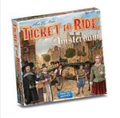 Copertina TICKET TO RIDE - AMSTERDAM n. - TICKET TO RIDE - AMSTERDAM, ASMODEE ITALIA