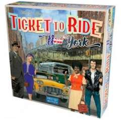 Copertina TICKET TO RIDE - NEW YORK n. - TICKET TO RIDE - NEW YORK, ASMODEE ITALIA