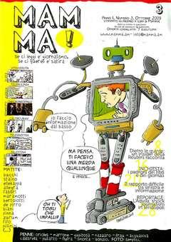 Copertina MAMMA! n.3 - MAMMA! 3 - INFORMAZIONE, ASS.CULTURALE ALTRINFORMAZIONE