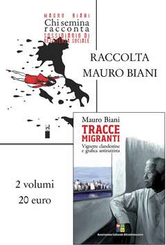 Copertina Raccolte n. - CHI SEMINA RACCONTA + TRACCE MIGRANTI, ASS.CULTURALE ALTRINFORMAZIONE