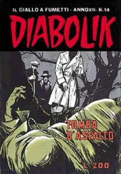 Copertina DIABOLIK ANNO 12 n.14 - DIABOLIK ANNO 12            14, ASTORINA SRL