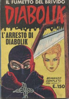 Copertina DIABOLIK ANNO 2 n.3 - ARRESTO DI DIABOLIK, ASTORINA SRL