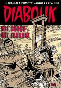 Copertina DIABOLIK ANNO 34 n.10 - NEL GORGO DEL TERRORE, ASTORINA SRL