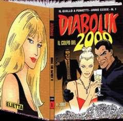 Copertina DIABOLIK ANNO 39 n.1 - IL COLPO DEL 2000, ASTORINA SRL