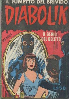 Copertina DIABOLIK ANNO 2 n.5 - IL GENIO DEL DELITTO, ASTORINA SRL