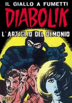 Copertina DIABOLIK ANNO 4 n.9 - L'ARTIGLIO DEL DEMONIO, ASTORINA SRL