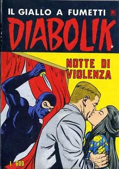 Copertina DIABOLIK RISTAMPA n.120 - NOTTE DI VIOLENZA, ASTORINA SRL