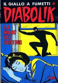 Copertina DIABOLIK RISTAMPA n.150 - LA MANO DEL DESTINO, ASTORINA SRL