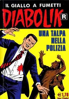 Copertina DIABOLIK RISTAMPA n.523 - UNA TALPA NELLA POLIZIA, ASTORINA SRL