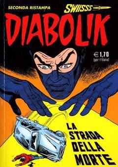 Copertina DIABOLIK SWIISSS n.117 - LA STRADA DELLA MORTE, ASTORINA SRL