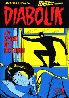 Copertina DIABOLIK SWIISSS n.150 - LA MANO DEL DESTINO, ASTORINA SRL