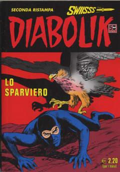 Copertina DIABOLIK SWIISSS n.215 - LO SPARVIERO, ASTORINA SRL
