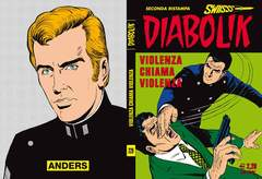 Copertina DIABOLIK SWIISSS n.229 - VIOLENZA CHIAMA VIOLENZA, ASTORINA SRL