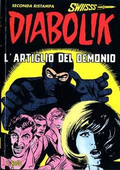 Copertina DIABOLIK SWIISSS n.33 - L'ARTIGLIO DEL DEMONIO, ASTORINA SRL