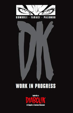 Copertina DIABOLIK , VOLUMI n.5 - DK WORK IN PROGRESS, ASTORINA SRL