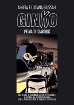 Copertina DIABOLIK , VOLUMI n.4 - GINKO PRIMA DI DIABOLIK, ASTORINA SRL