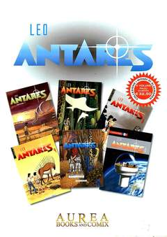 Copertina ANTARES Cofanetto n.2 - ANTARES 1/6, AUREA BOOKS AND COMIX