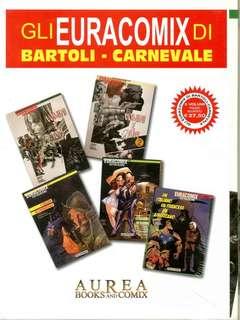 Copertina BARTOLI E CARNEVALE Pack n. - UOMINI E TOPI 1-2/I COLORI DI CARNEVALE 1-2/UN ITALIANO UN FRANCESE UN AMERICANO, AUREA BOOKS AND COMIX