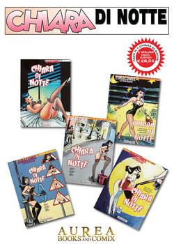 Copertina CHIARA DI NOTTE Pack n.1 - CHIARA DI NOTTE 1/5, AUREA BOOKS AND COMIX