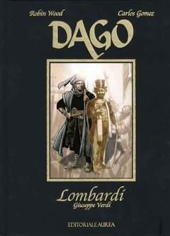 Copertina DAGO LOMBARDI n. - LOMBARDI, AUREA BOOKS AND COMIX