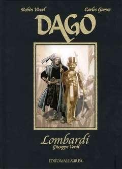 Copertina DAGO LOMBARDI n.2 - LOMBARDI, AUREA BOOKS AND COMIX