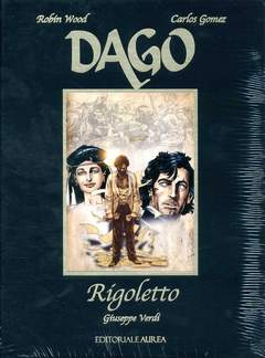 Copertina DAGO RIGOLETTO n. - RIGOLETTO, AUREA BOOKS AND COMIX