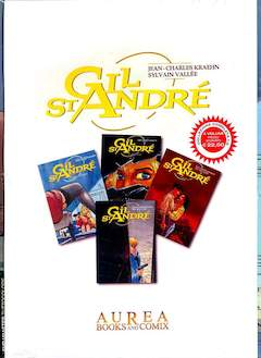 Copertina GIL ST ANDRE' Cofanetto n.1 - GIL ST ANDRE' 1/4, AUREA BOOKS AND COMIX