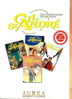Copertina GIL ST ANDRE' Cofanetto n.2 - GIL ST ANDRE' 5/8, AUREA BOOKS AND COMIX