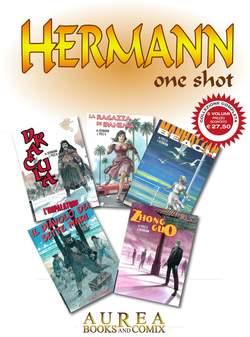 Copertina HERMANN ONE SHOT Cofanetto n. - ONE SHOT - 5 Volumi, AUREA BOOKS AND COMIX