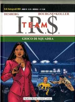 Copertina INTEGRALI BD Nuova Serie n.10 - GIOCO DI SQUADRA, AUREA BOOKS AND COMIX