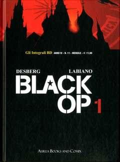 Copertina INTEGRALI BD Nuova Serie n.11 - BLACK OP 1, AUREA BOOKS AND COMIX