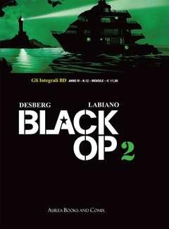 Copertina INTEGRALI BD Nuova Serie n.12 - BLACK OP 2, AUREA BOOKS AND COMIX