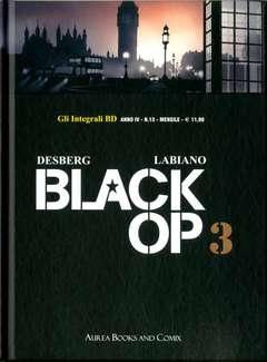 Copertina INTEGRALI BD Nuova Serie n.13 - BLACK OP 3, AUREA BOOKS AND COMIX