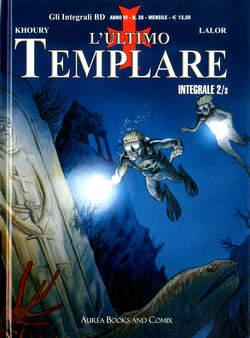 Copertina INTEGRALI BD Nuova Serie n.38 - L'ULTIMO TEMPLARE INTEGRALE 2 di 3, AUREA BOOKS AND COMIX