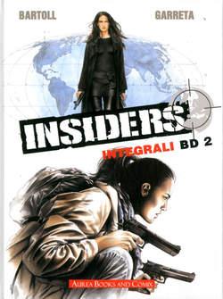 Copertina INTEGRALI BD Nuova Serie n.2 - INSIDERS 2, AUREA BOOKS AND COMIX
