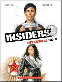 Copertina INTEGRALI BD Nuova Serie n.3 - INSIDERS 3, AUREA BOOKS AND COMIX