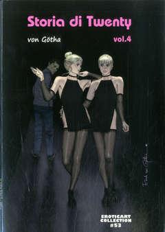 Copertina EROTIC ART COLLECTION n.53 - STORIA DI TWENTY, B&M EDIZIONI