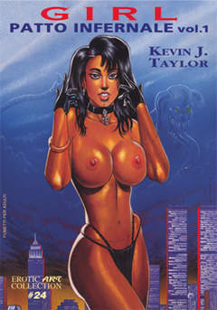 Copertina EROTIC ART COLLECTION [FE] n.24 - GIRL - PATTO INFERNALE 1, B&M EDIZIONI