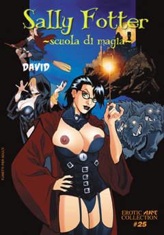 Copertina EROTIC ART COLLECTION [FE] n.25 - SALLY FOTTER, SCUOLA DI MAGIA, B&M EDIZIONI