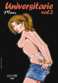 Copertina EROTIC ART COLLECTION [FE] n.41 - UNIVERSITARIE 2, B&M EDIZIONI
