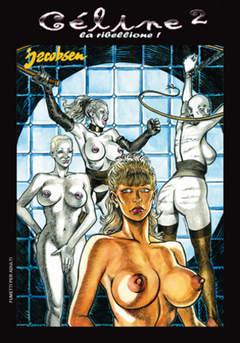 Copertina EROTIC ART COLLECTION [FE] n.43 - CELINE 2: LA RIBELLIONE!, B&M EDIZIONI