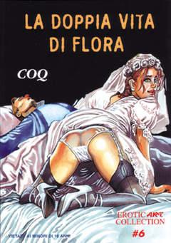 Copertina EROTIC ART COLLECTION [FE] n.6 - DOPPIA VITA DI FLORA, B&M EDIZIONI