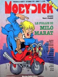 Copertina MOBY DICK ALBI n.2 - FOLLIE DI MILO MARAT, BALDINI MASSIMO EDITORE