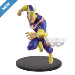 Copertina Q POSKET n.22 - MY HERO ACADEMIA - THE AMAZING HEROES 5 ALL MIGHT, BANPRESTO