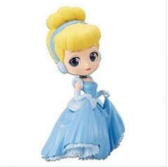 Copertina Q POSKET n.5 - DISNEY - CINDERELLA (NORMAL COLOR VER.) FIG. 14CM, BANPRESTO