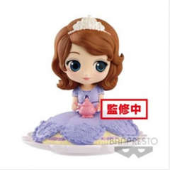 Copertina Q POSKET n.8 - DISNEY - SUGIRLY - SOFIA (NORMAL COLOR VERSION) 9, BANPRESTO