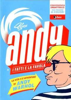 Copertina ANDY n. - I FATTI E LA FAVOLA, BAO PUBLISHING